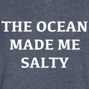 The ocean made me salty - Men's V-Neck T-Shirt by Canvas