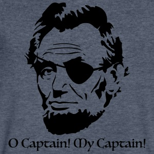O Captain! My Captain! - Men's V-Neck T-Shirt by Canvas