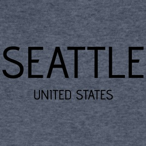 Seattle - Men's V-Neck T-Shirt by Canvas