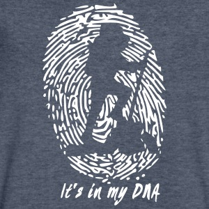 Hiking - It's in my DNA - Men's V-Neck T-Shirt by Canvas