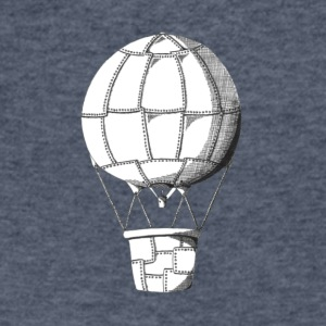 lead balloon - Men's V-Neck T-Shirt by Canvas