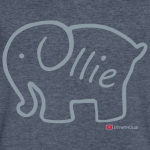 Olliephant Logo - Men's V-Neck T-Shirt by Canvas