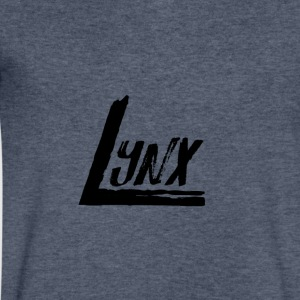 Lynx - Men's V-Neck T-Shirt by Canvas
