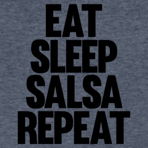Eat Sleep Salsa Repeat - Men's V-Neck T-Shirt by Canvas