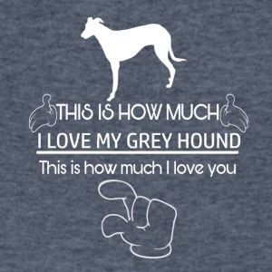 Cool Greyhound Designs - Men's V-Neck T-Shirt by Canvas