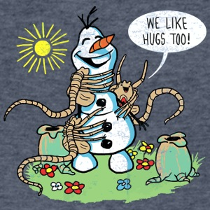 Warm Hugs - Men's V-Neck T-Shirt by Canvas