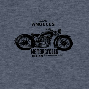Motorcycles - Men's V-Neck T-Shirt by Canvas