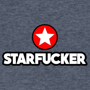 STARFUCKER - Men's V-Neck T-Shirt by Canvas
