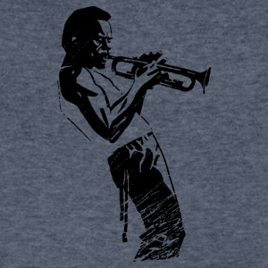 Davis Jazz - Men's V-Neck T-Shirt by Canvas