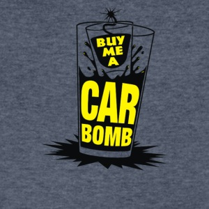 Bomb Me A Car Bomb System - Men's V-Neck T-Shirt by Canvas