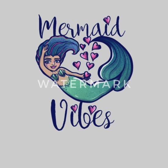 Mermaid Vibes Men's V-Neck T-Shirt | Spreadshirt