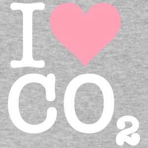 I Love CO2 - Men's V-Neck T-Shirt by Canvas