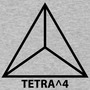 TETRA^4 - Men's V-Neck T-Shirt by Canvas