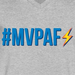 #MVPAF - Men's V-Neck T-Shirt by Canvas