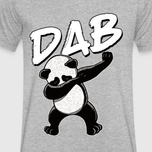 Panda dabing - Men's V-Neck T-Shirt by Canvas