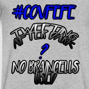 #Covfefe Tweeting AfterDark ? No Braincells Used - Men's V-Neck T-Shirt by Canvas
