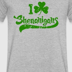 I Clover Shenanigans - Men's V-Neck T-Shirt by Canvas