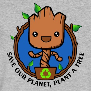 Save the planet - Men's V-Neck T-Shirt by Canvas