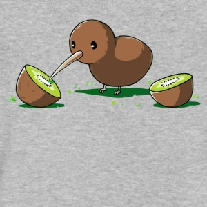 Kiwi Cannibal - Men's V-Neck T-Shirt by Canvas