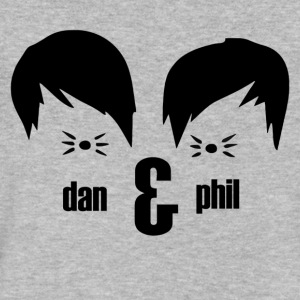 Dan And Phil - Men's V-Neck T-Shirt by Canvas