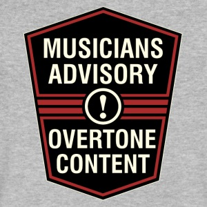 overtone content - Men's V-Neck T-Shirt by Canvas