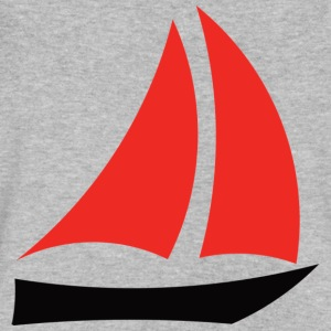 Boat - Men's V-Neck T-Shirt by Canvas