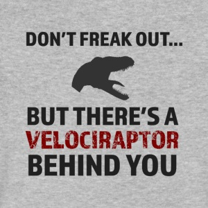 There'a a Raptor Behind You! - Men's V-Neck T-Shirt by Canvas