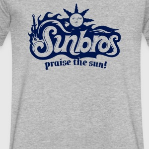 Sunbros - Men's V-Neck T-Shirt by Canvas
