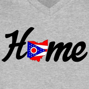 OH Home - Men's V-Neck T-Shirt by Canvas