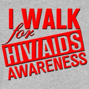AIDS Awareness - Men's V-Neck T-Shirt by Canvas