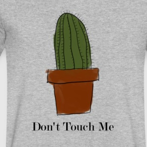 Don't Touch Me Cactus - Men's V-Neck T-Shirt by Canvas