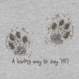 A loving way to say 'Hi'! - Men's V-Neck T-Shirt by Canvas