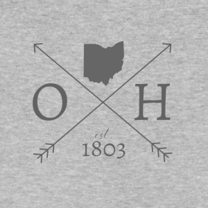 Ohio - 1803 - Men's V-Neck T-Shirt by Canvas