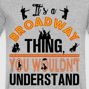 Broadway Shirt. - Men's V-Neck T-Shirt by Canvas