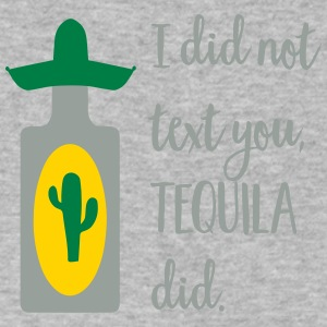 tequila - Men's V-Neck T-Shirt by Canvas
