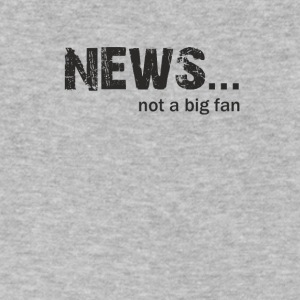 News not a Big fan - Men's V-Neck T-Shirt by Canvas