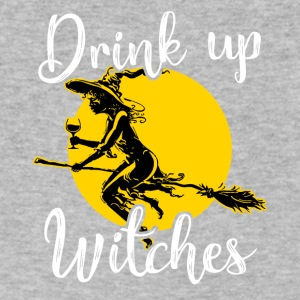 Drink up Witches Halloween - Men's V-Neck T-Shirt by Canvas