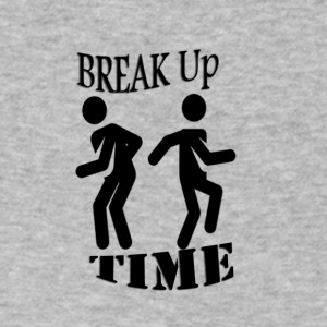 Breakup - Men's V-Neck T-Shirt by Canvas