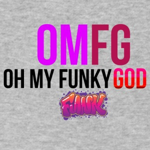 Oh my funky god - Men's V-Neck T-Shirt by Canvas