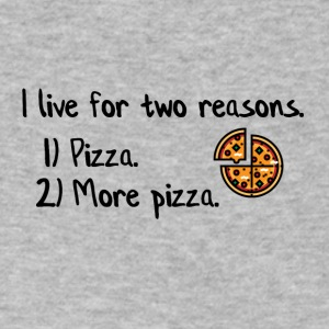 I live for two reasons - Men's V-Neck T-Shirt by Canvas
