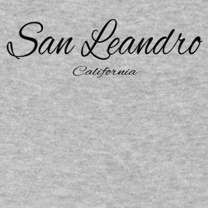 California San Leandro US DESIGN EDITION - Men's V-Neck T-Shirt by Canvas