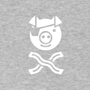 The Piglets Of The Caribbacon - Men's V-Neck T-Shirt by Canvas