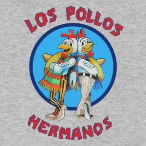 Los pollos hermanos | Logo HD - Men's V-Neck T-Shirt by Canvas