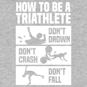 How To Triathlete - Men's V-Neck T-Shirt by Canvas