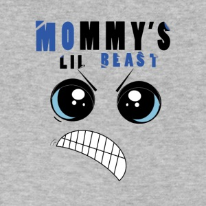 Mommy's Lil Beast - Men's V-Neck T-Shirt by Canvas