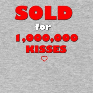 SOLD FOR KISSES - Men's V-Neck T-Shirt by Canvas