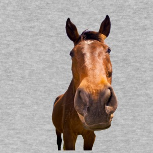 Horse, head - Men's V-Neck T-Shirt by Canvas
