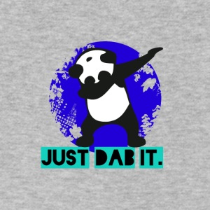 DAB panda dabbing football touchdown mooving dance - Men's V-Neck T-Shirt by Canvas