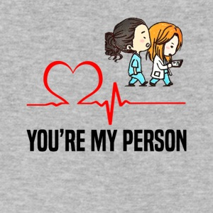 Grey s Anatomy You are my person - Men's V-Neck T-Shirt by Canvas
