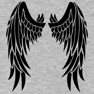 Angel wings - Men's V-Neck T-Shirt by Canvas